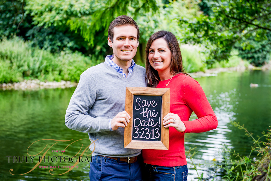 Save The Date Engagement Photos Truly Photography London